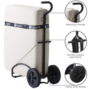 Earthlite massage table traveler cart