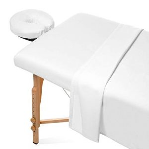 Saloniture flannel massage sheet set