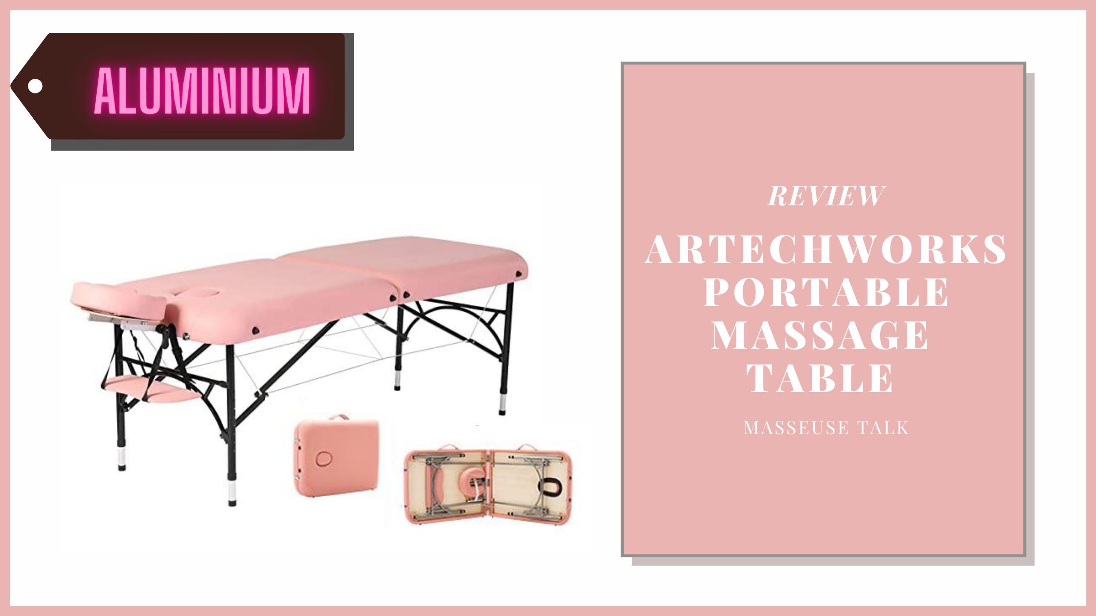 Artechworks Portable Massage Table