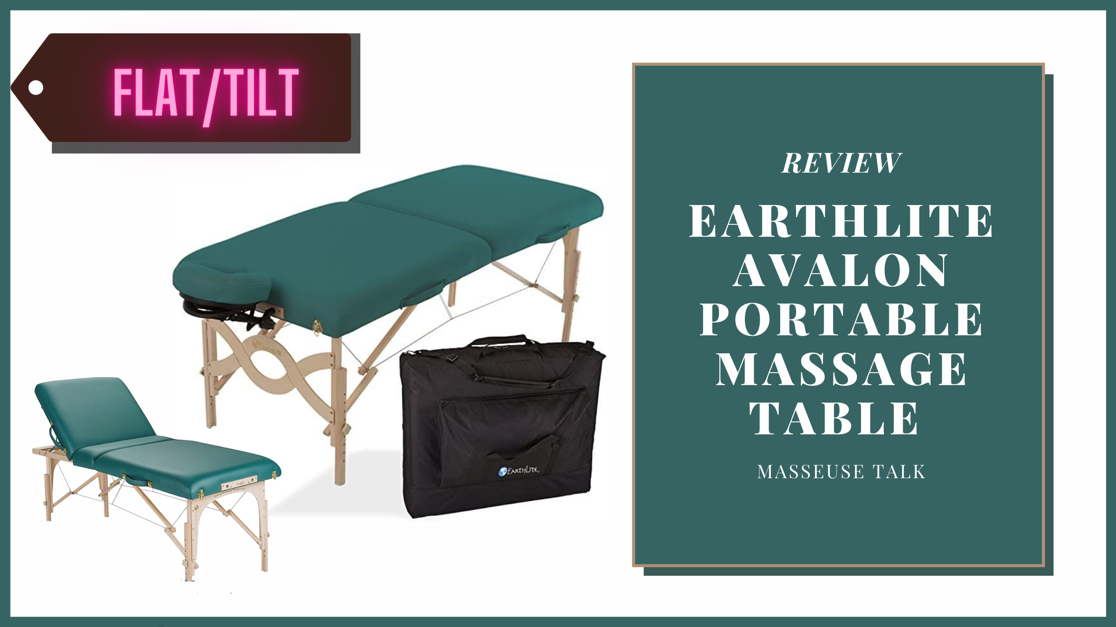 Earthlite Avalon Portable Massage Table