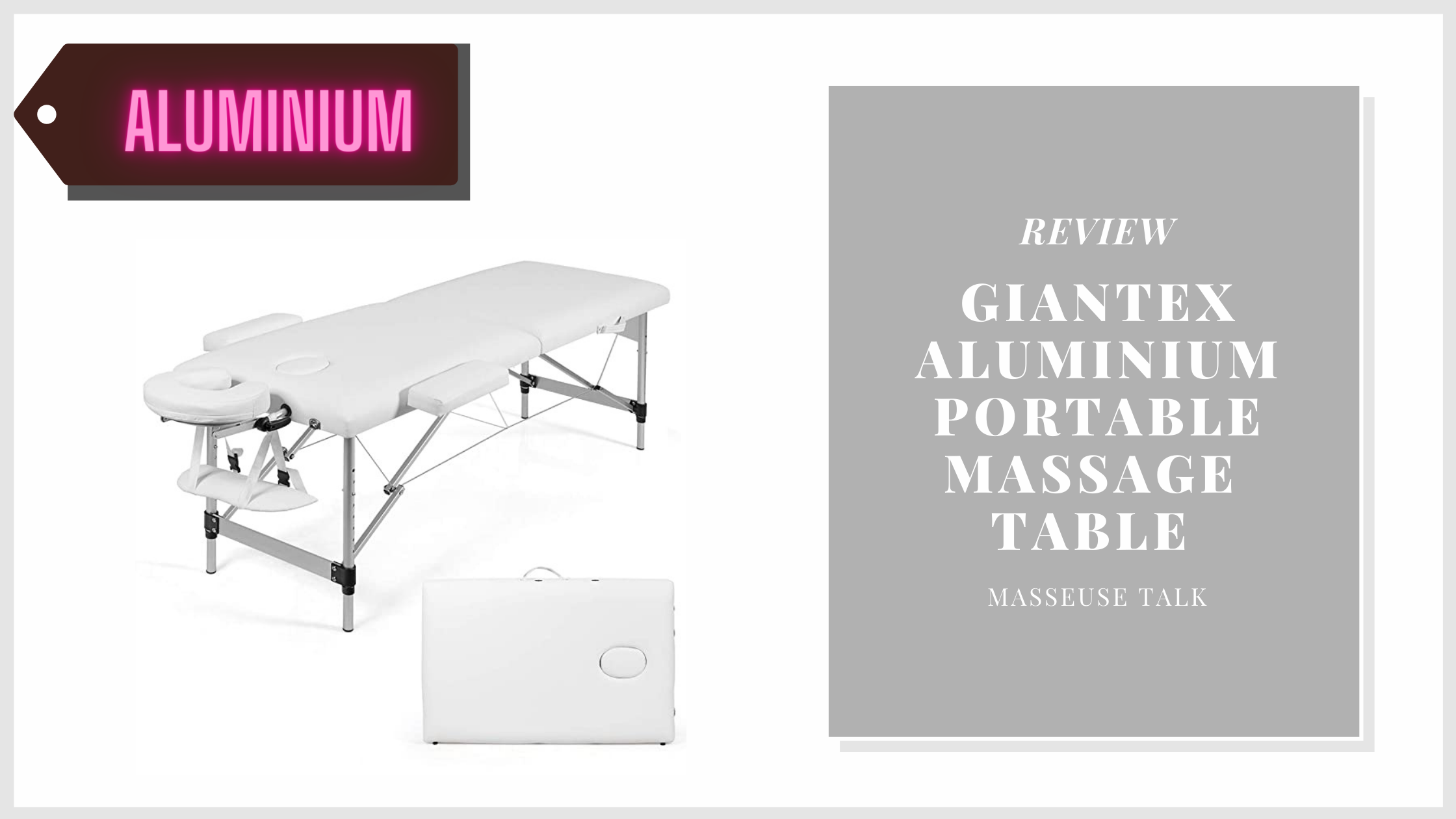 Giantex Portable Massage Table