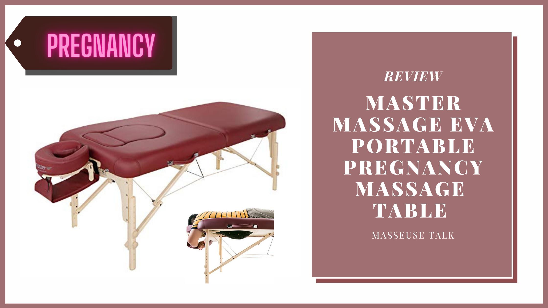 Master Massage Eva Pregnancy Massage Table