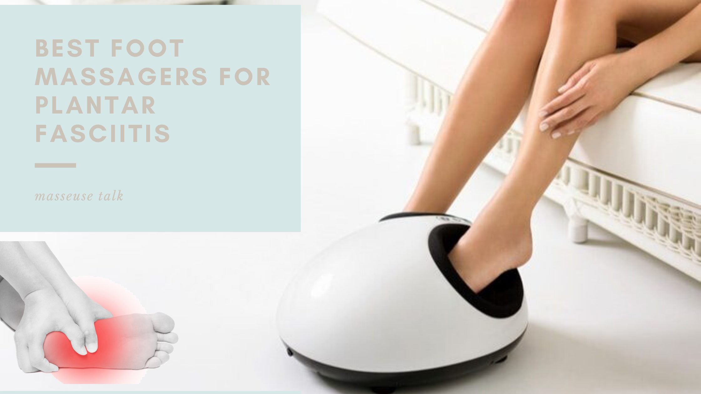 Foot Massager for Plantar Fasciitis