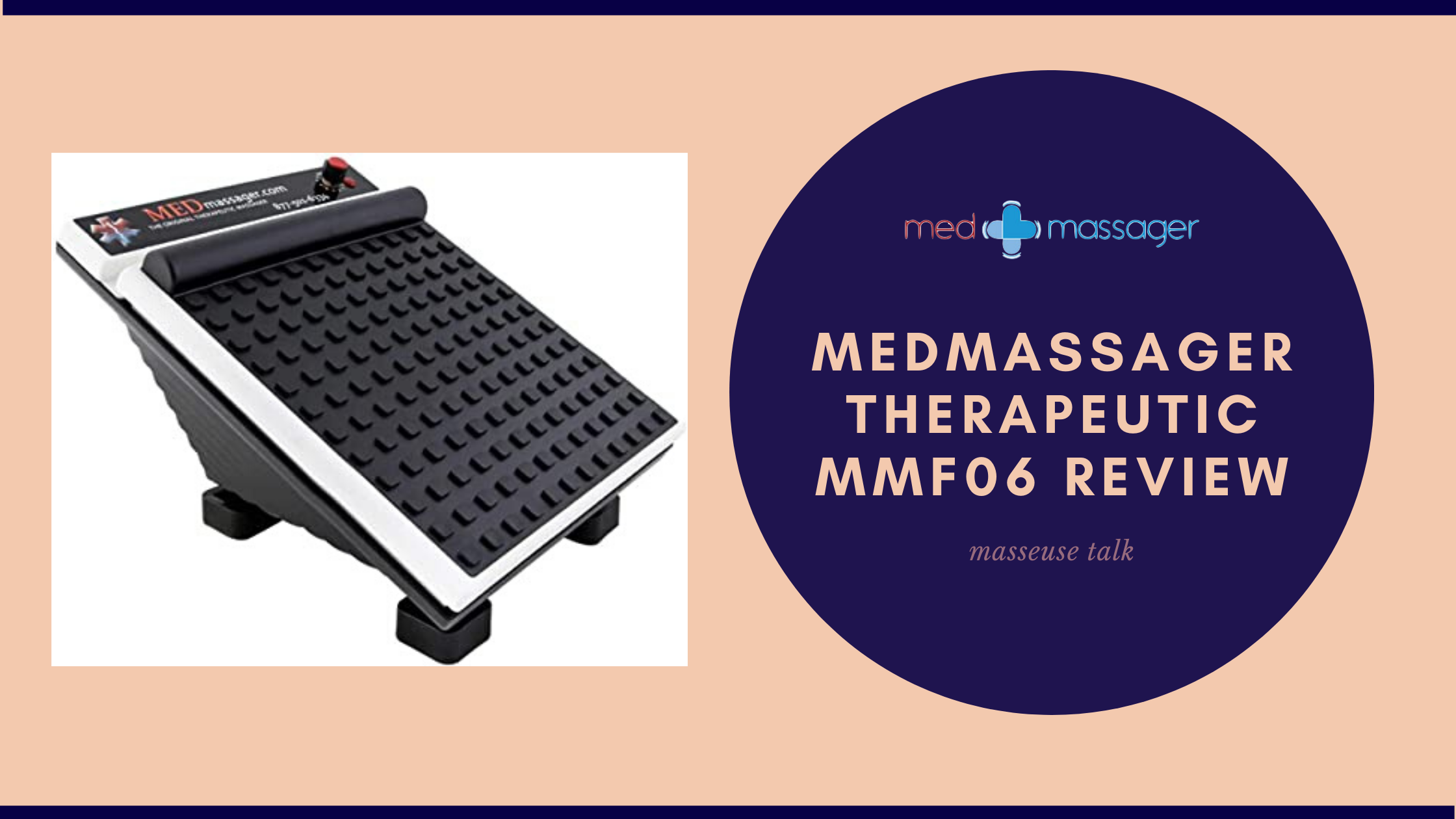 MedMassager Therapeutic Foot Calf Massager