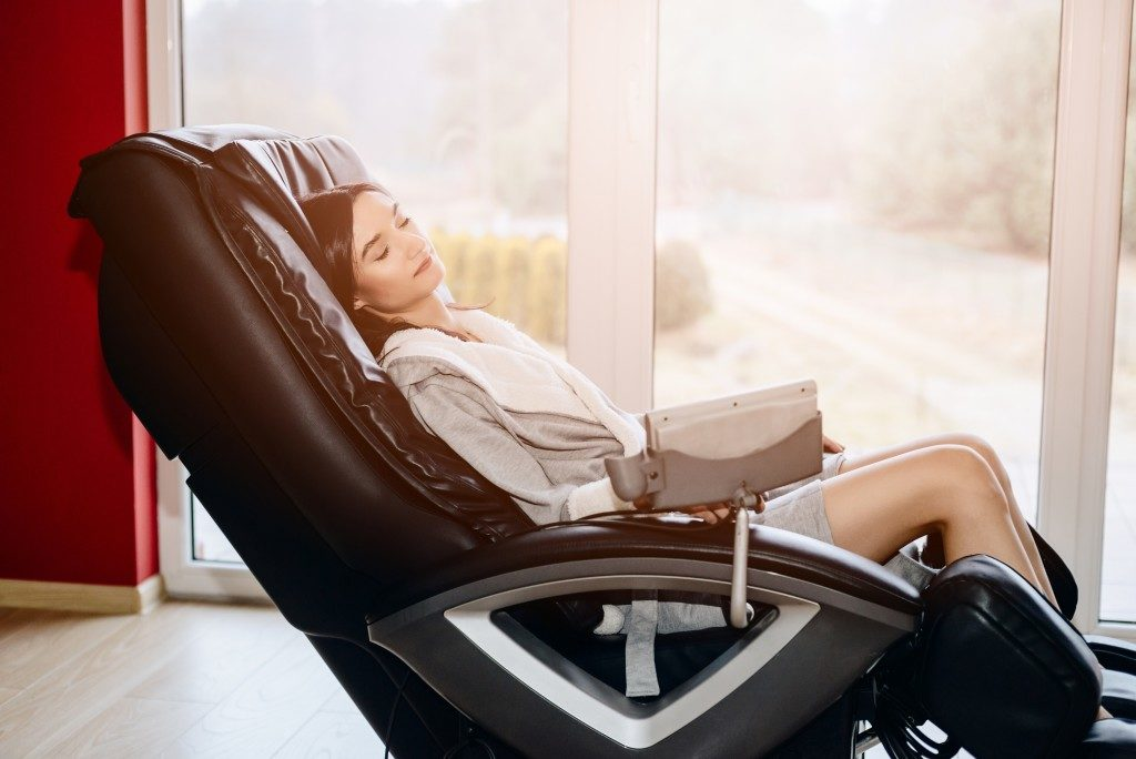 massage chair relaxation