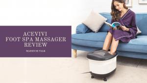 Acevivi Foot Bath Massager