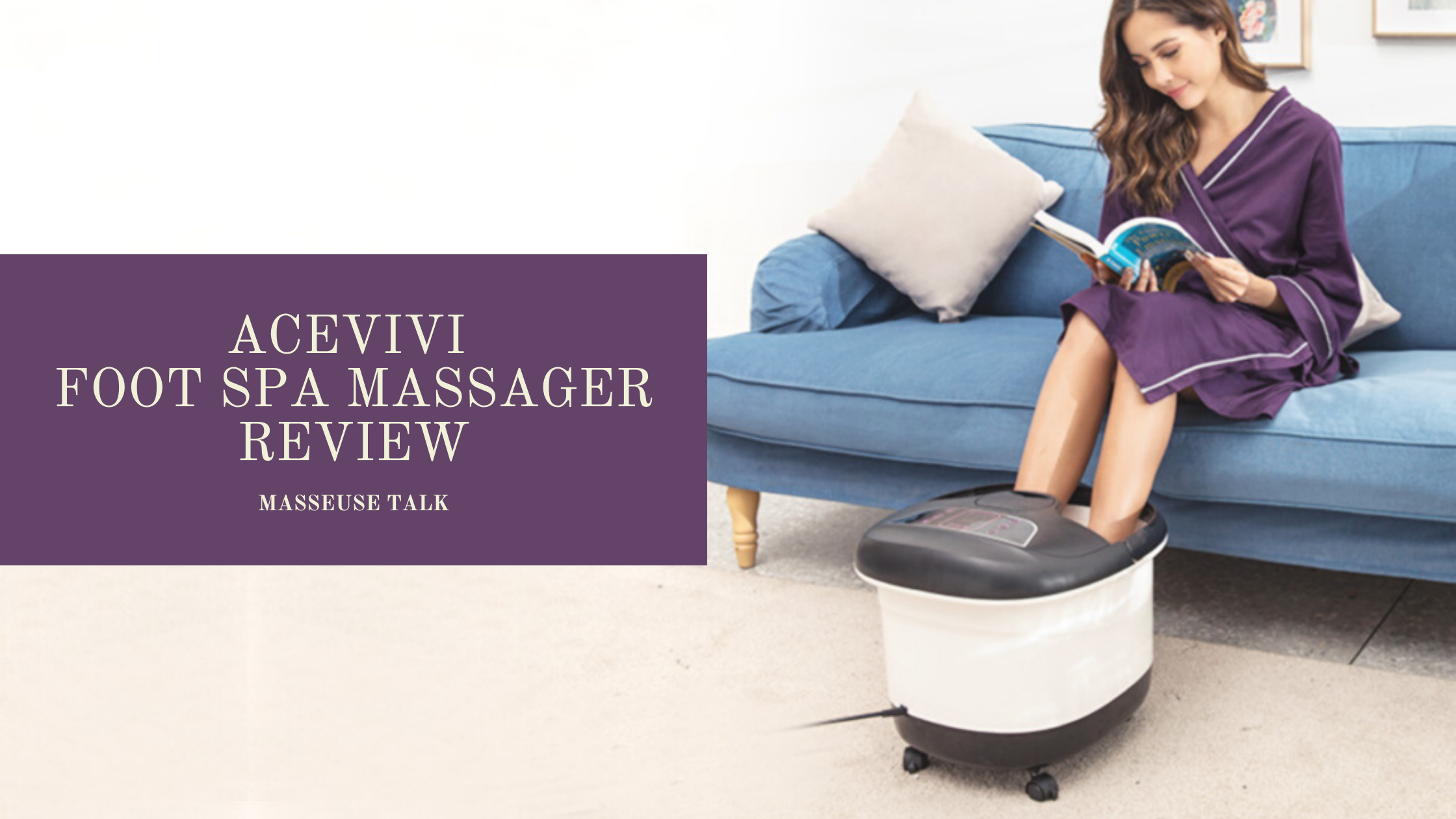 Acevivi Foot Bath Massager