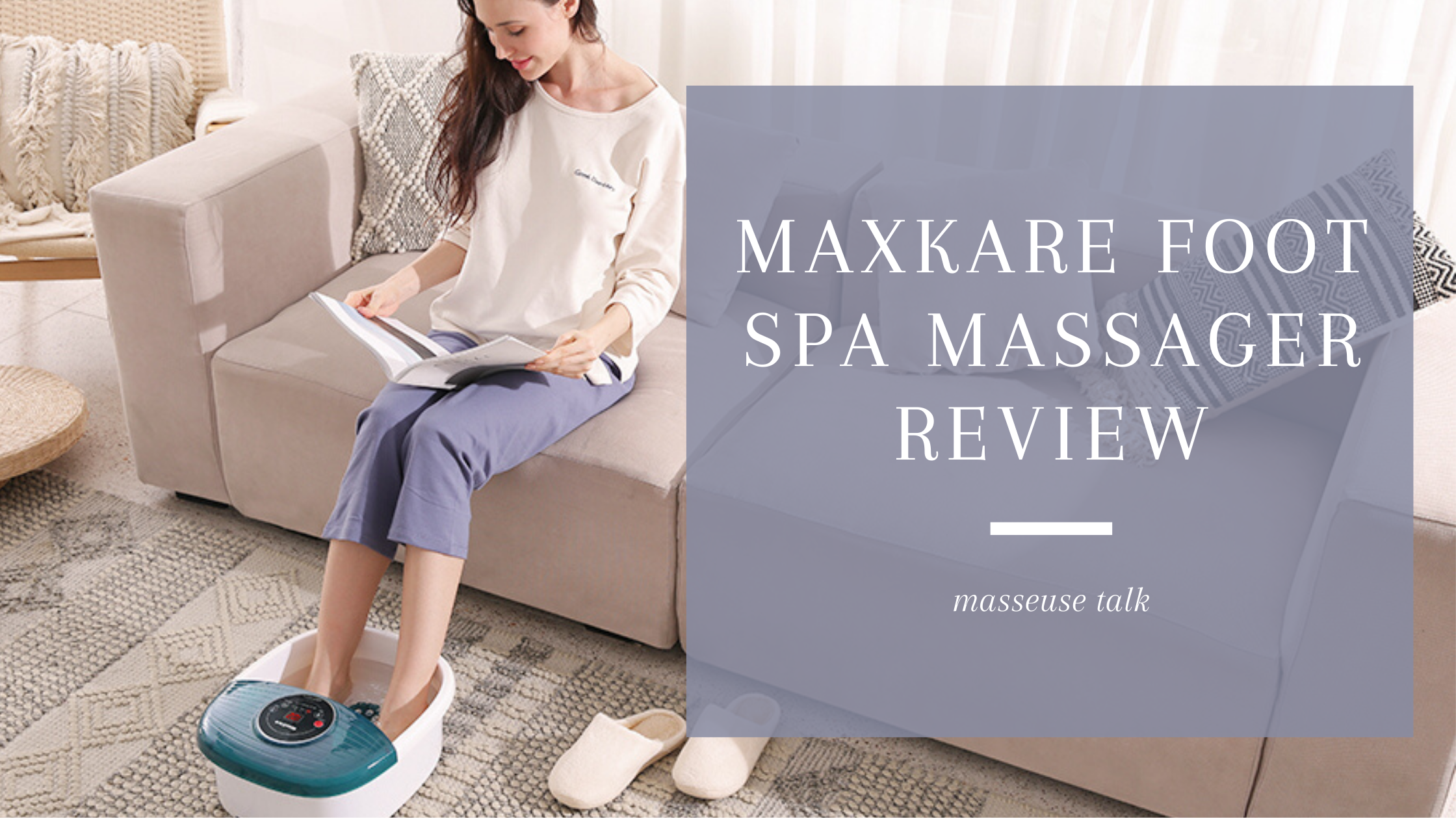 MaxKare Foot Spa Massager