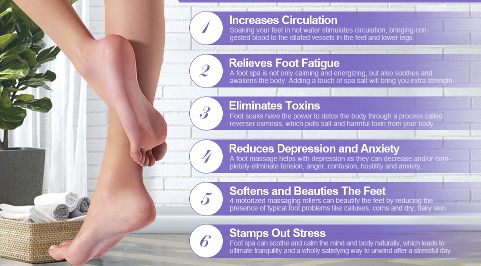 benefits of foot spa