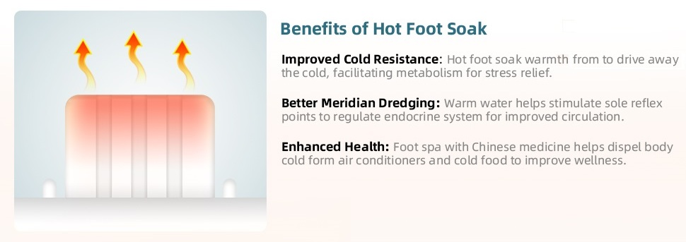 heated foot spa