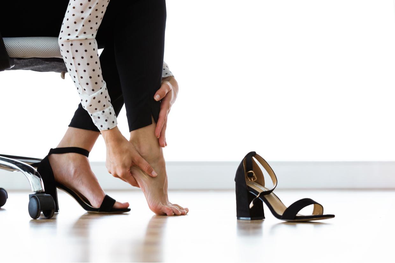 plantar fasciitis high heels