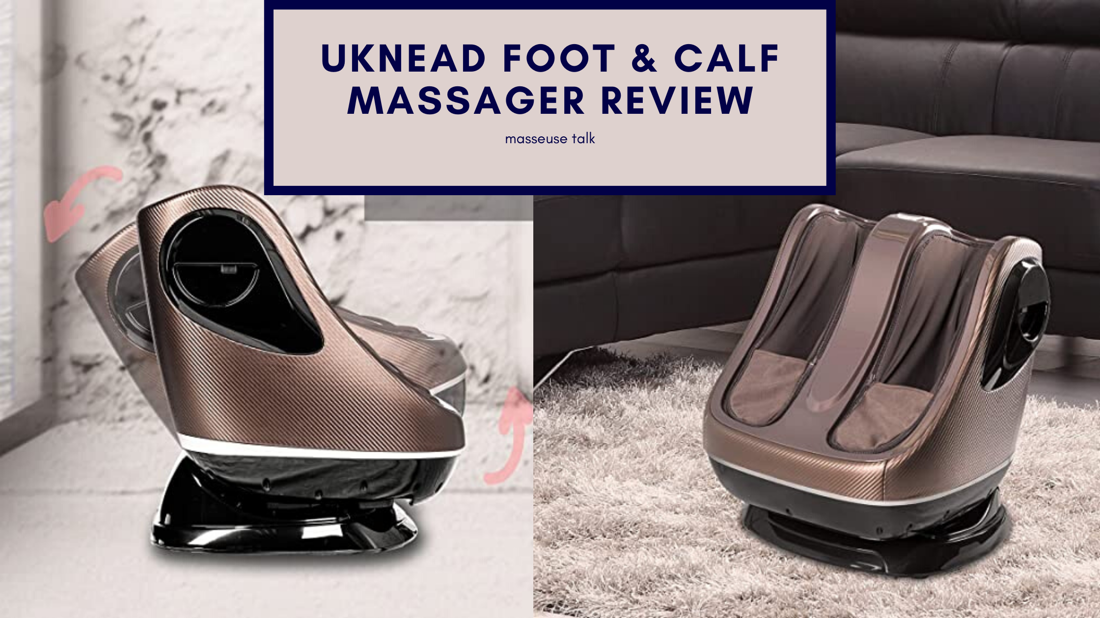 uKnead Foot and Calf Massager