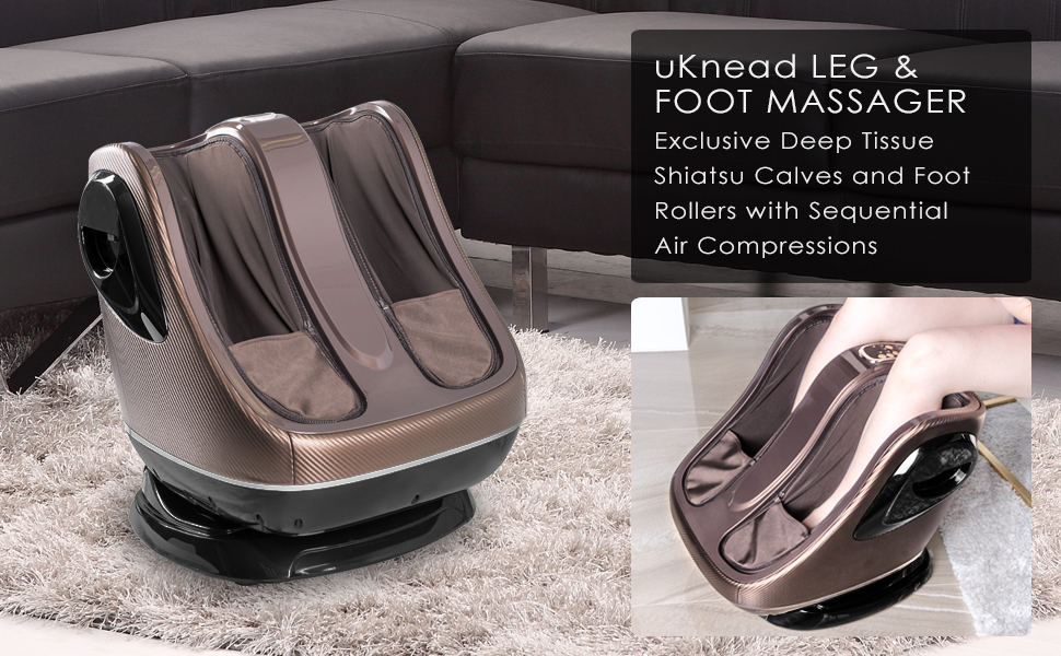 uKnead foot calf massager