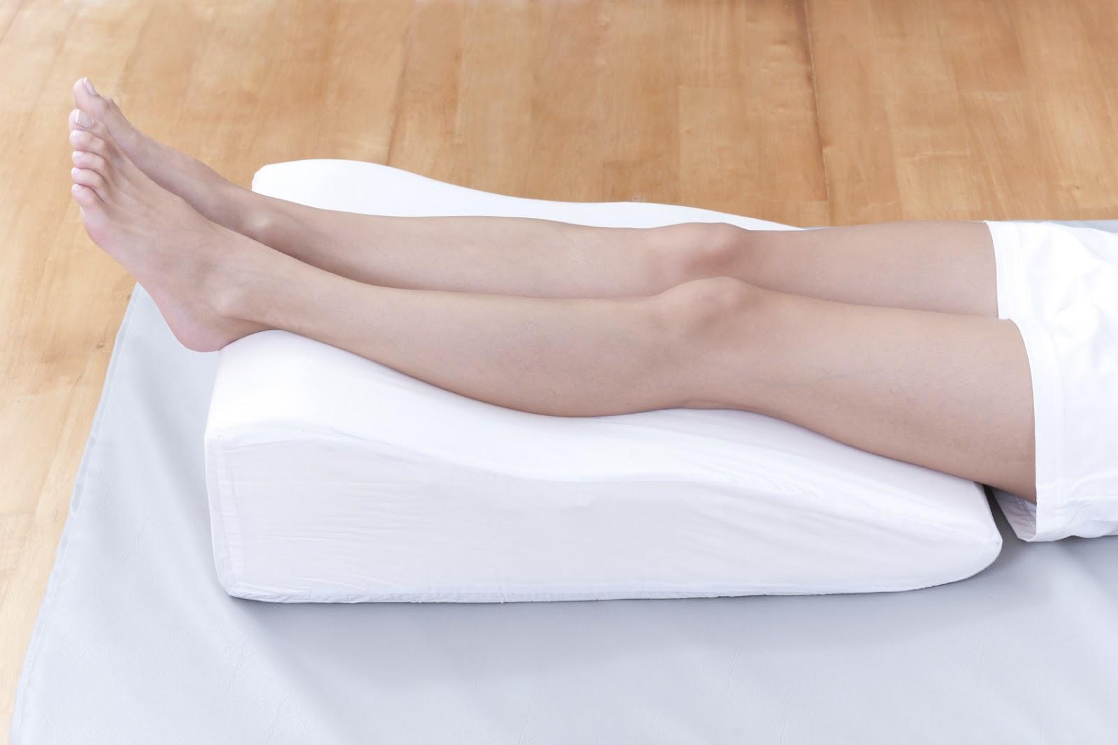 varicose veins elevation legs