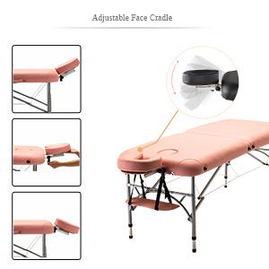 Artechworks adjustable face cradle pink