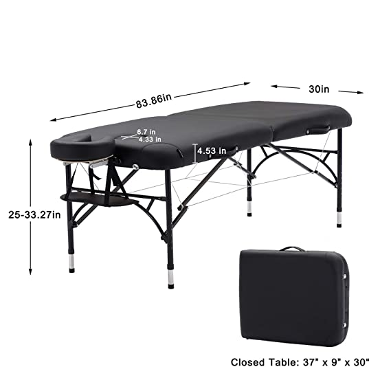 Artechworks wide massage table