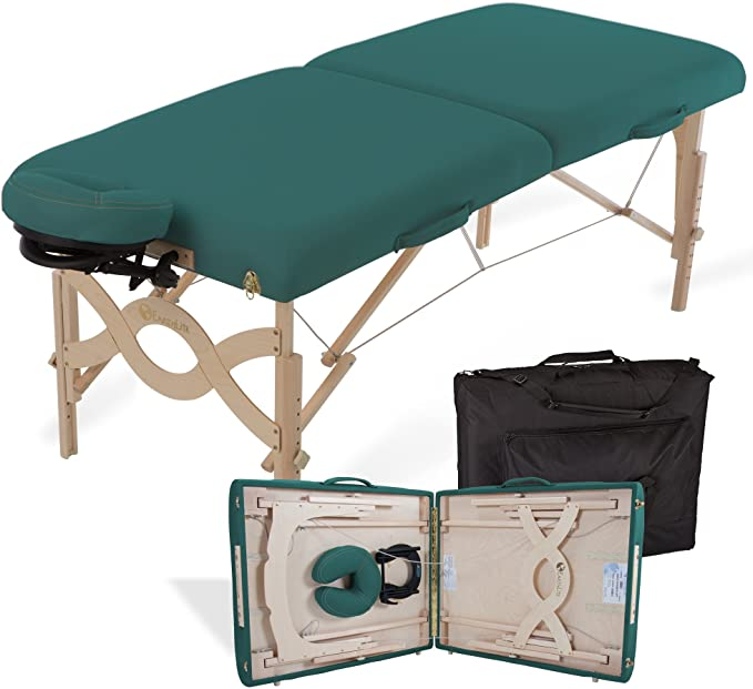 Earthlite Avalon green massage table