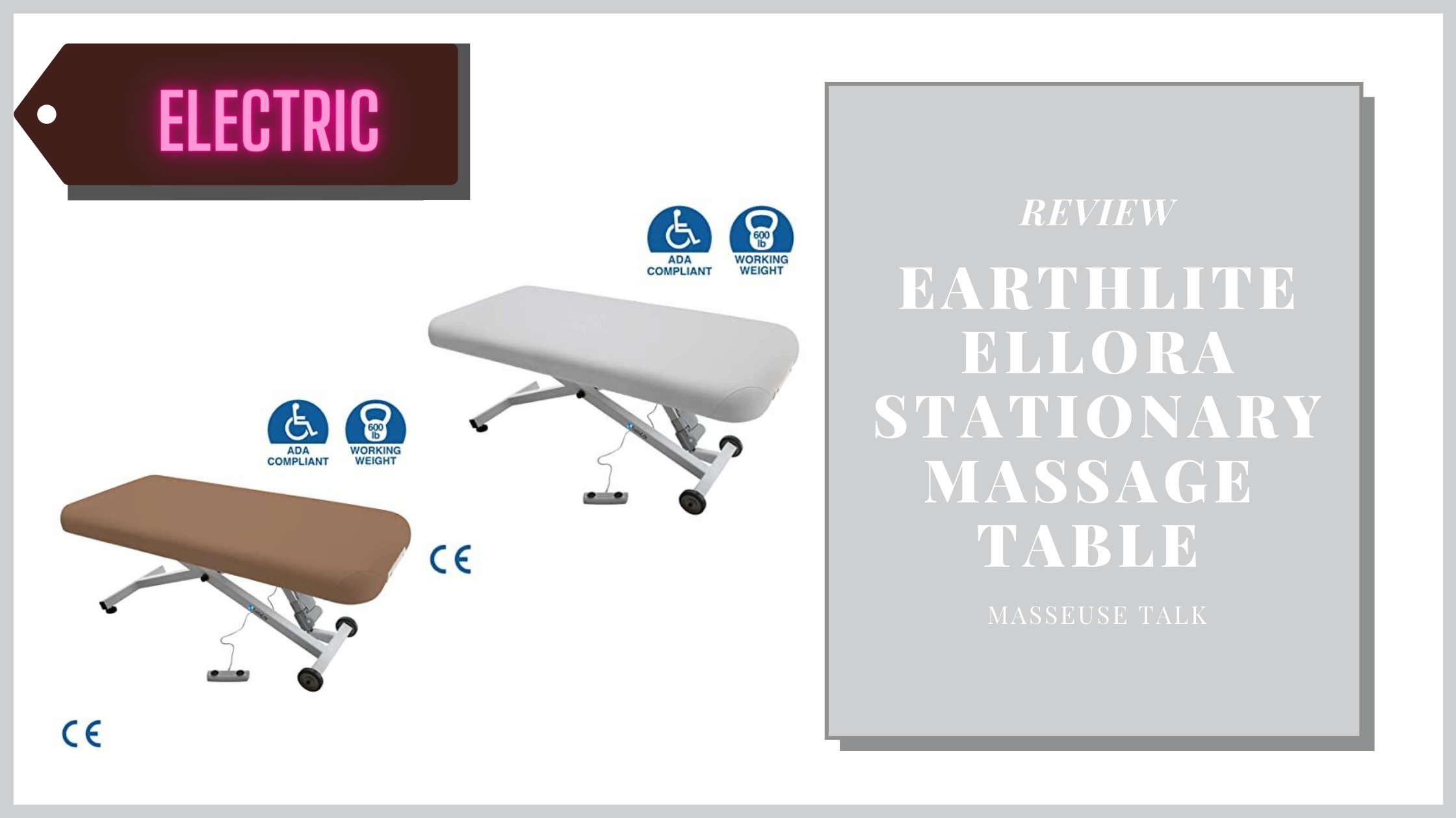 Earthlite Ellora Electric Massage Table
