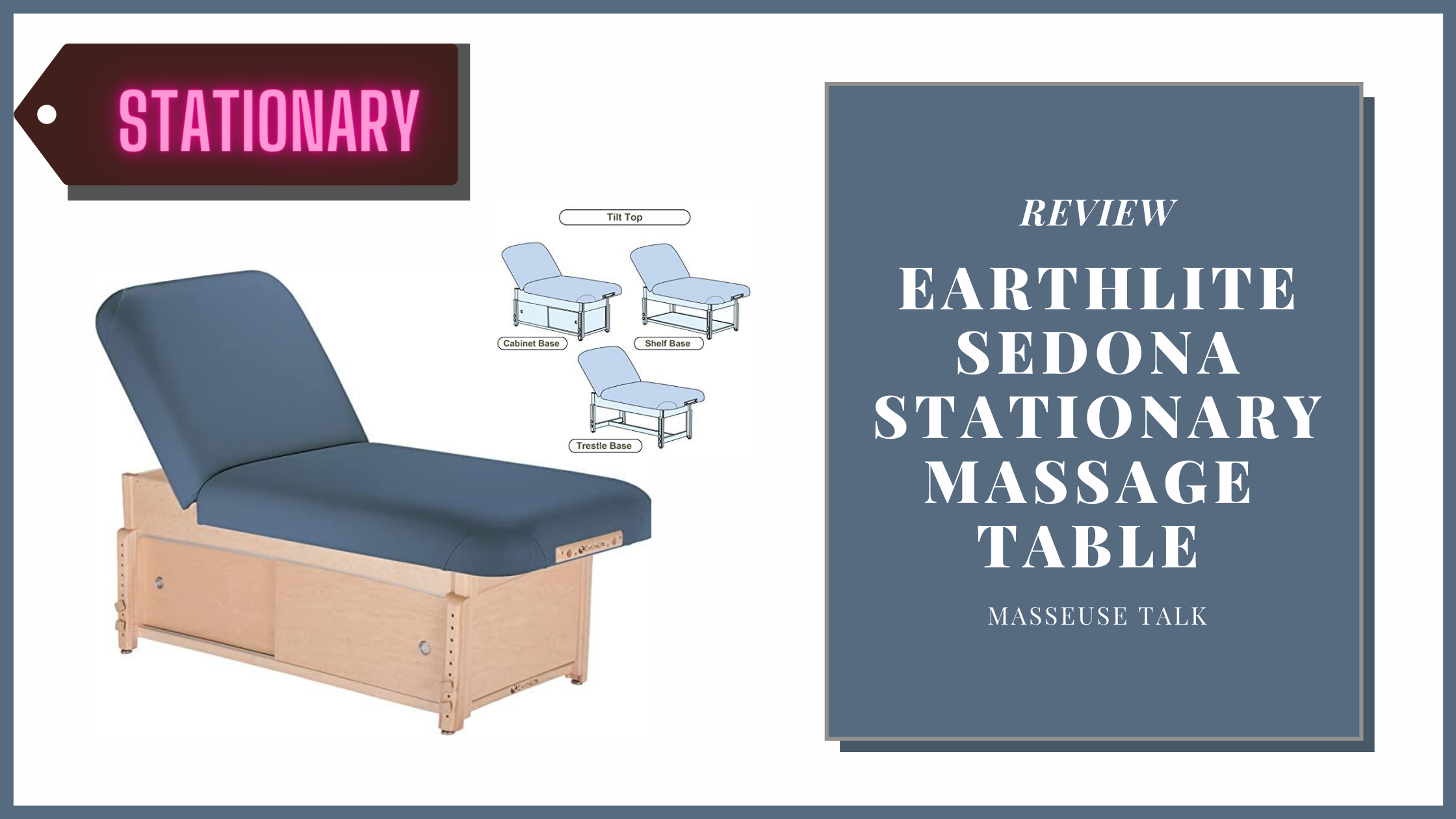 Earthlite Sedona Stationary Massage Table