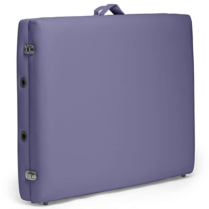 Saloniture purple portable massage table