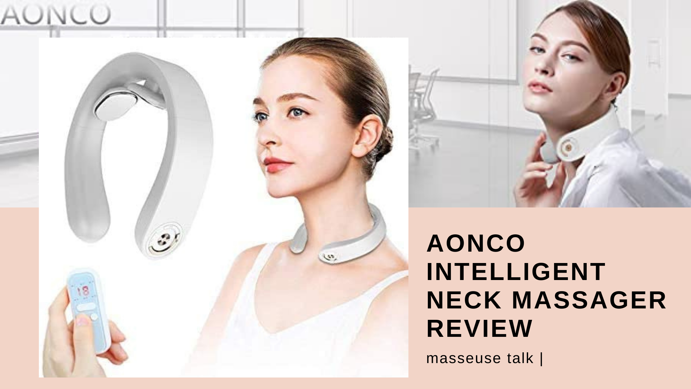 AONCO Intelligent Neck Massager