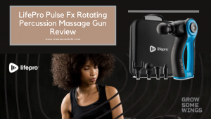 LifePro Pulse Fx Rotating Massage Gun