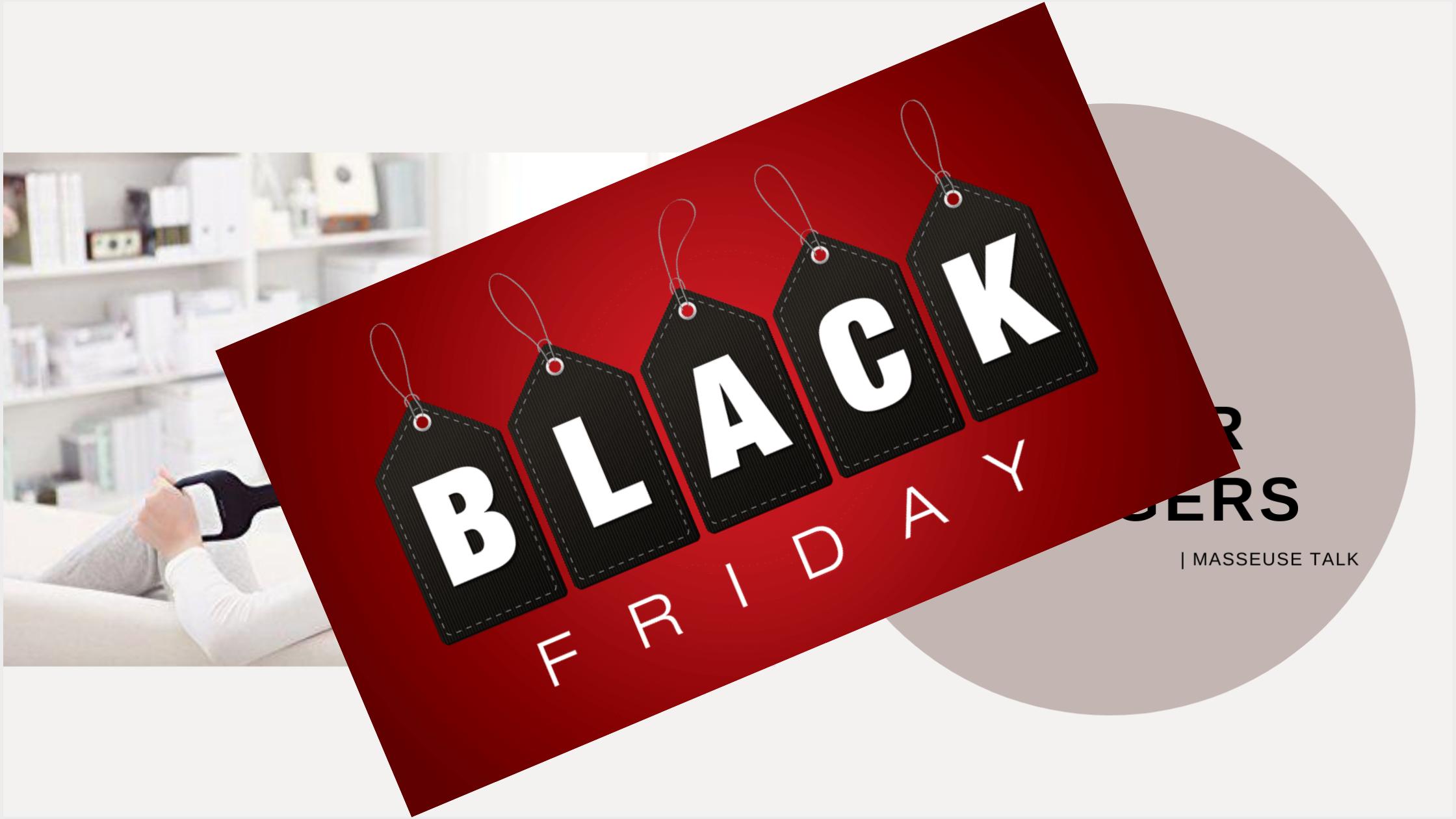 Neck and Shoulder Massager Black Friday