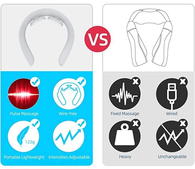 Neck vs Neck and Shoulder Massager