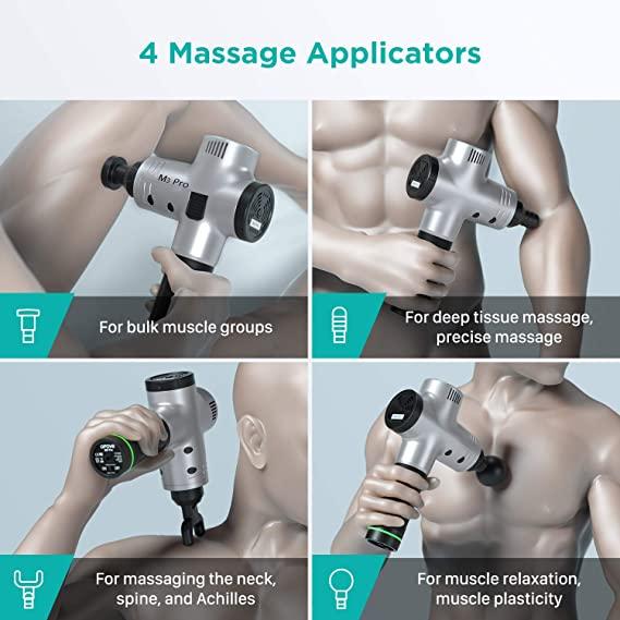 OPOVE M3 Pro massage heads
