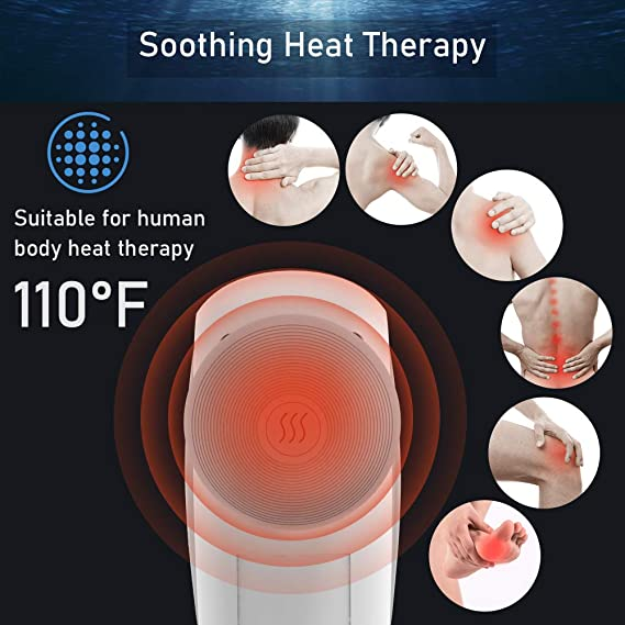 TYMO handheld massager heat therapy