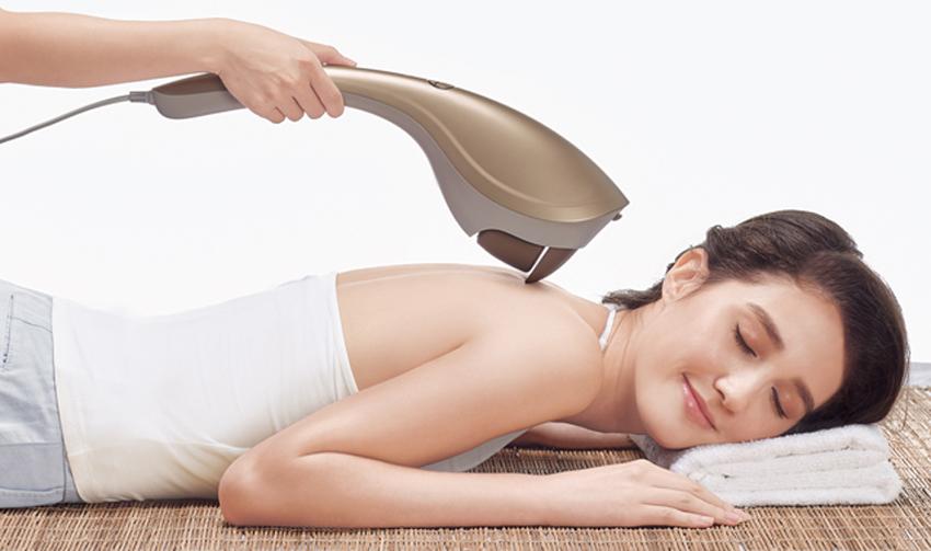 handheld massager wrap up