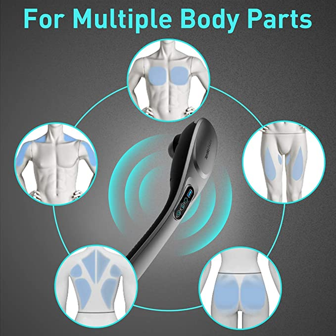 handheld massagers body parts
