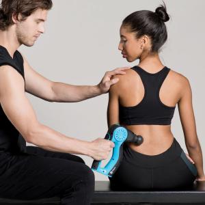 massage gun personal trainer