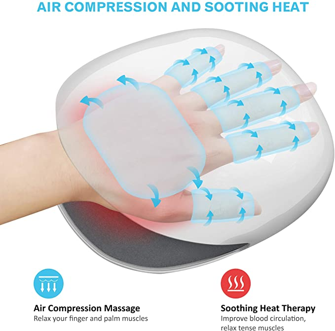 Air compression and heat therapy