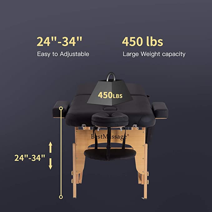 Best Massage massage table specs