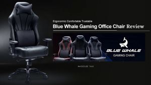 Blue Whale Massage Gaming Chair