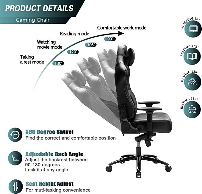 Blue Whale adjustable recline