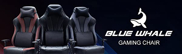 Blue Whale gaming office chair