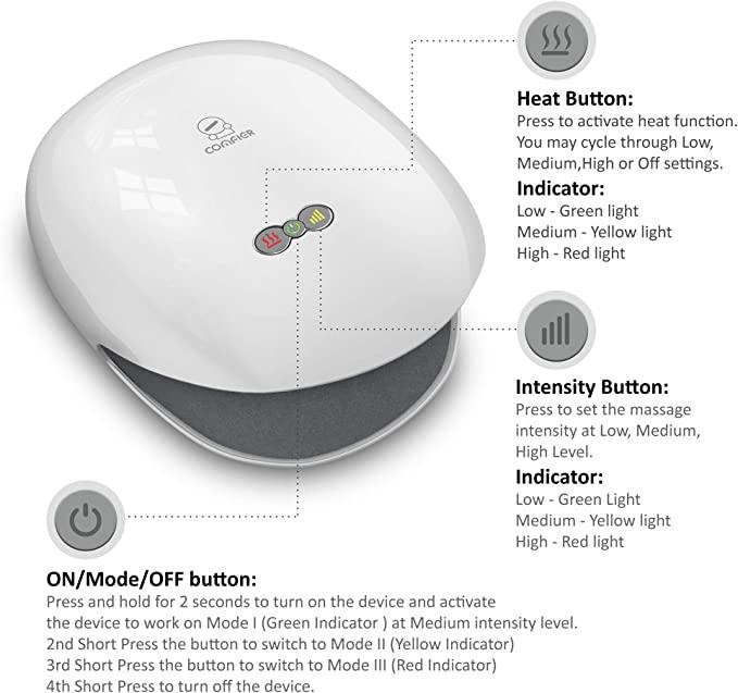 Comfier button interface