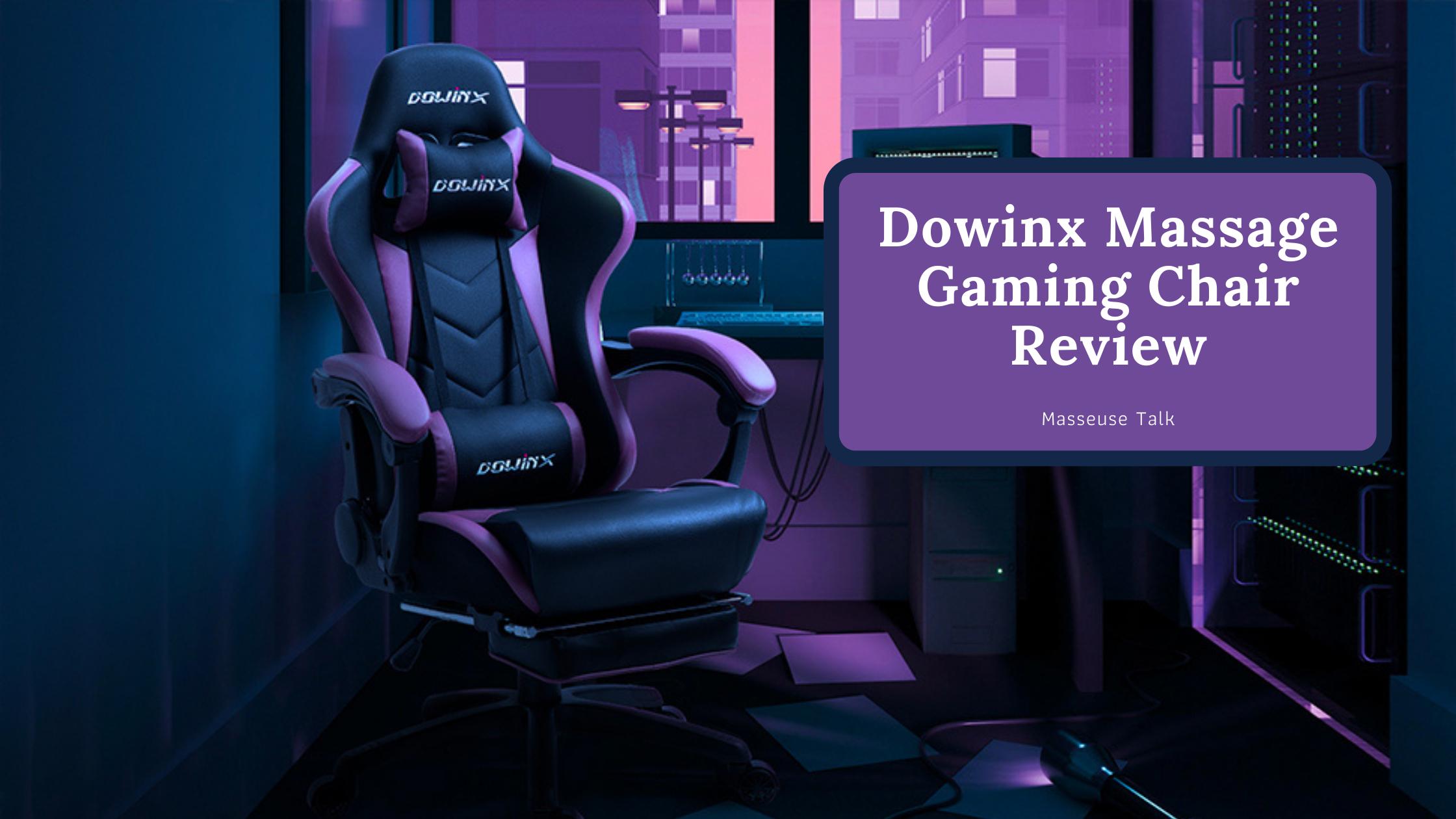 Dowinx Massage Gaming Chair