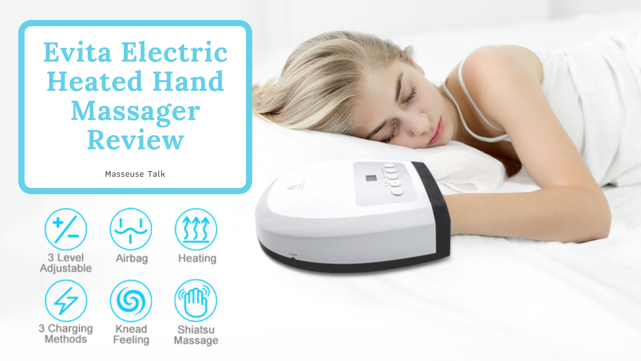 Evita Electric Hand Massager