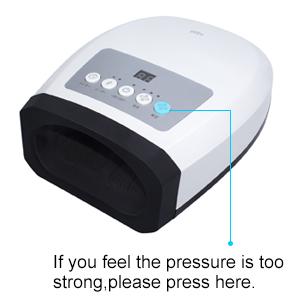 Evita decompression button