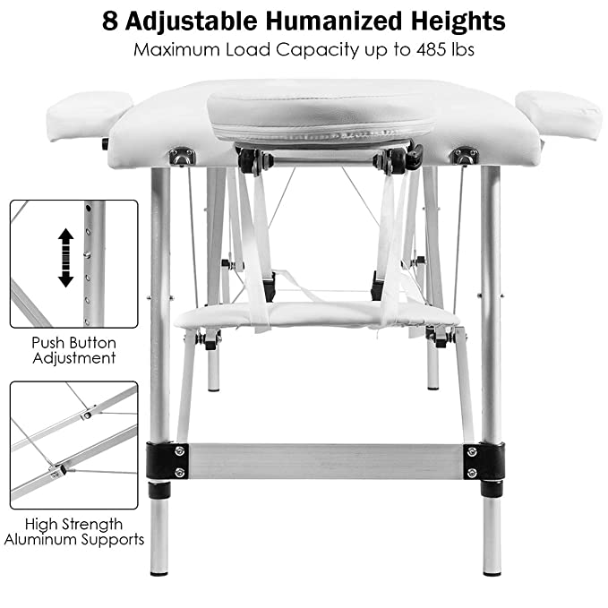 Giantex height adjustment