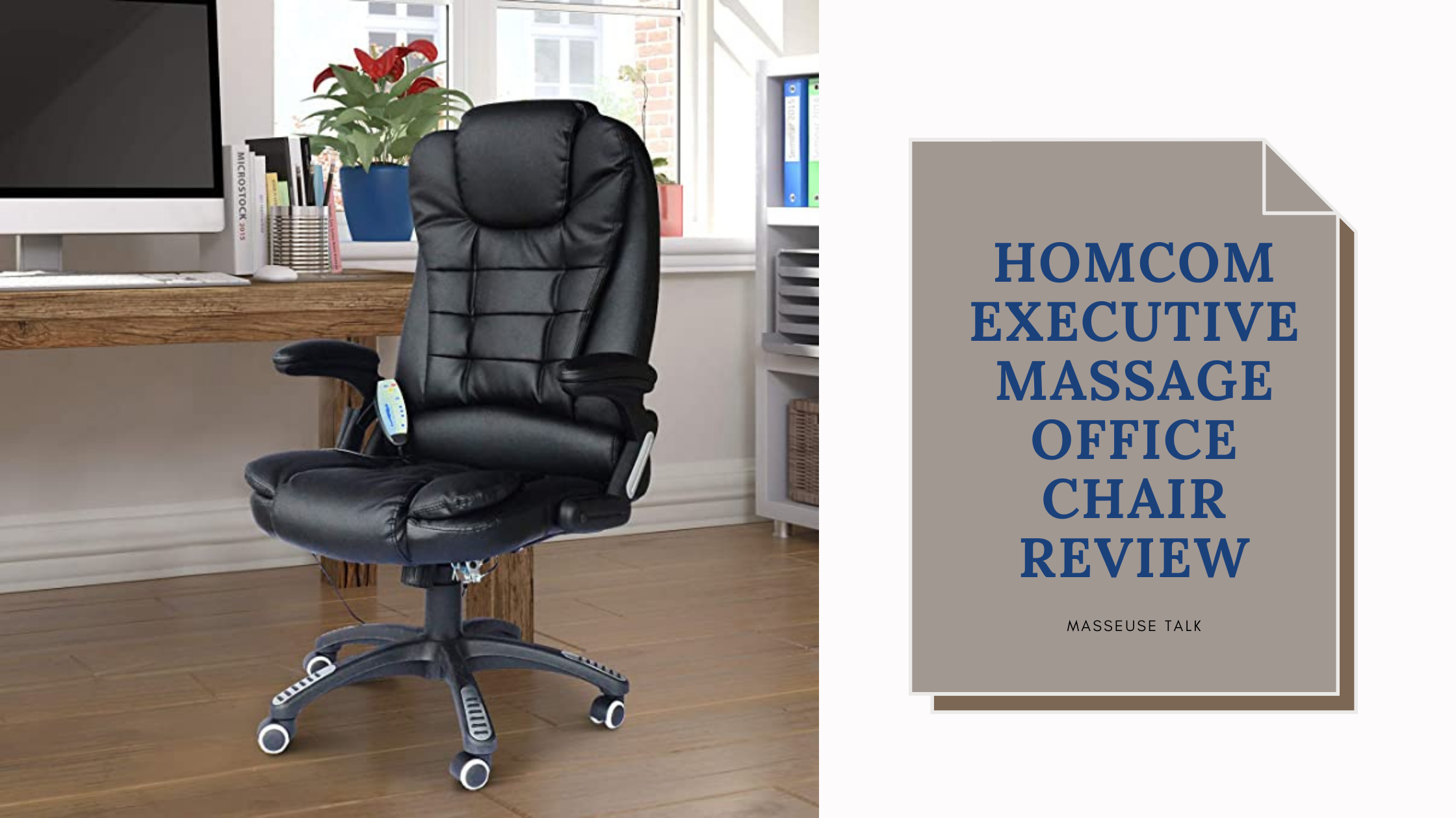 Homcom Massage Office Chair