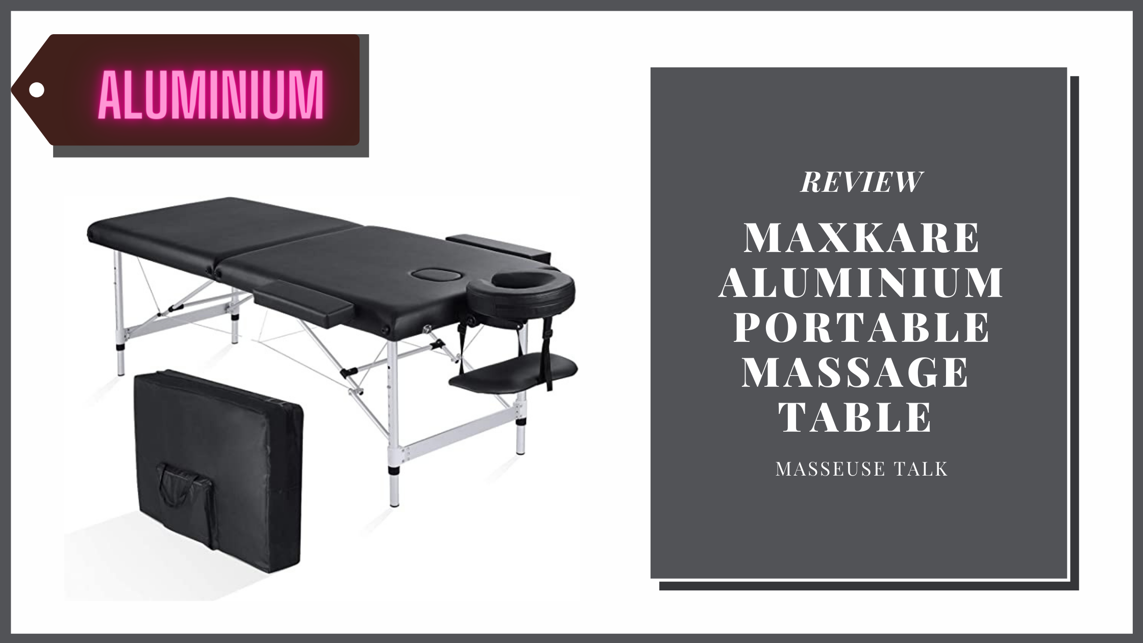 MaxKare Portable Massage Table