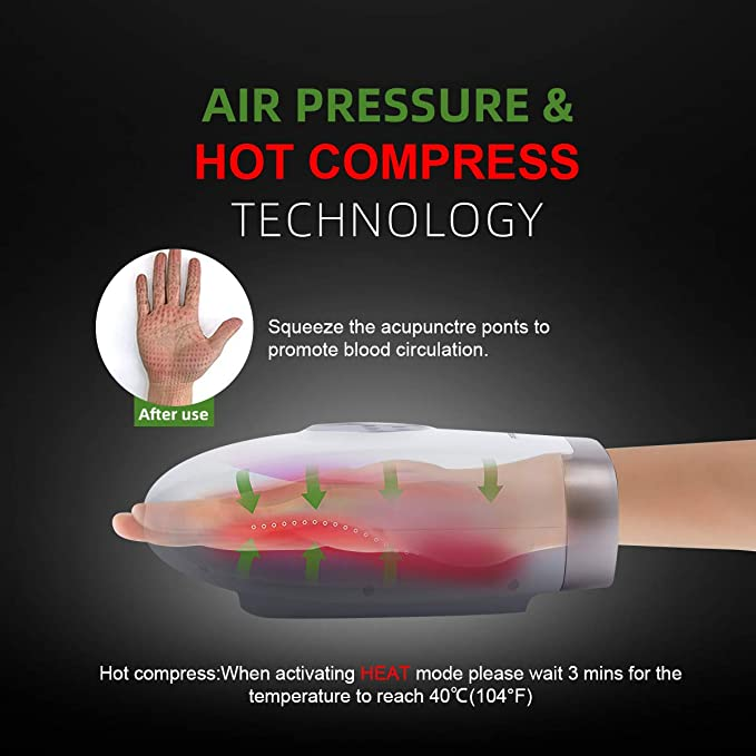 Prourbier air pressure hot compress