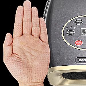 hand massager dimple effect