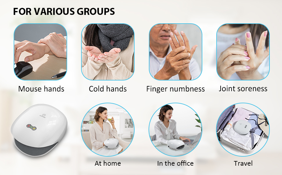 hand massager suitable for