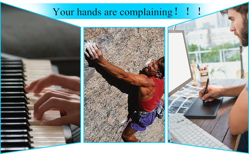 hands usage